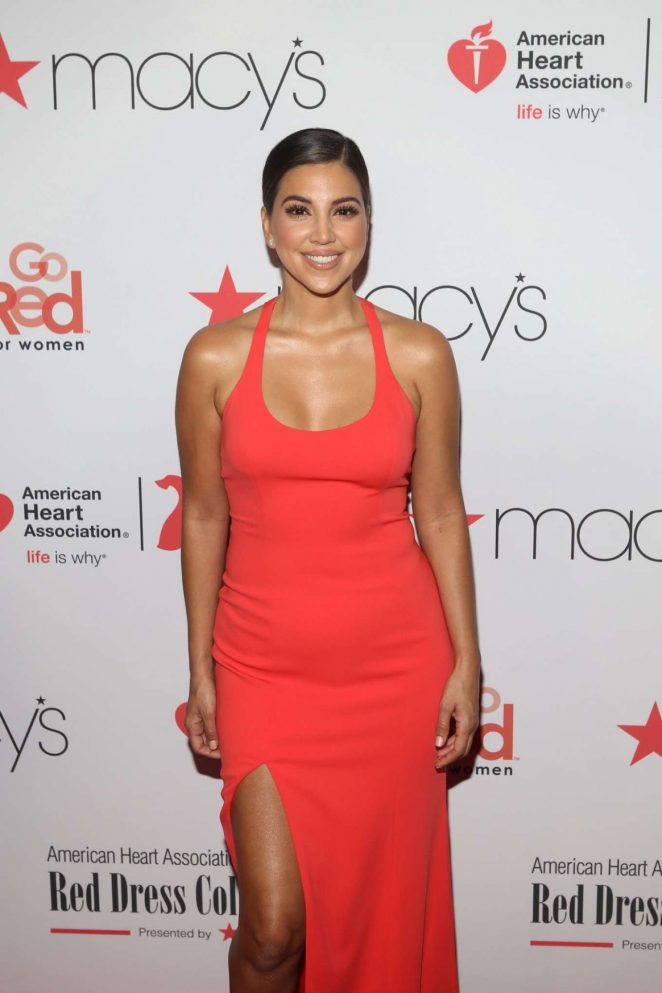 Liz Hernandez – American Heart Association's Go Red for Women Red Dress Collection 2018 in NY