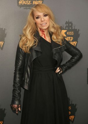 Liz McClarnon - KISS Haunted House Party in London