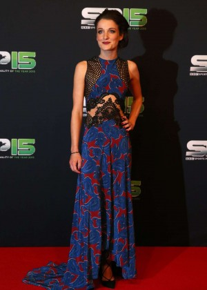Lizzie Armitstead - 2015 BBC Sports Personality Of The Year Award in Belfast