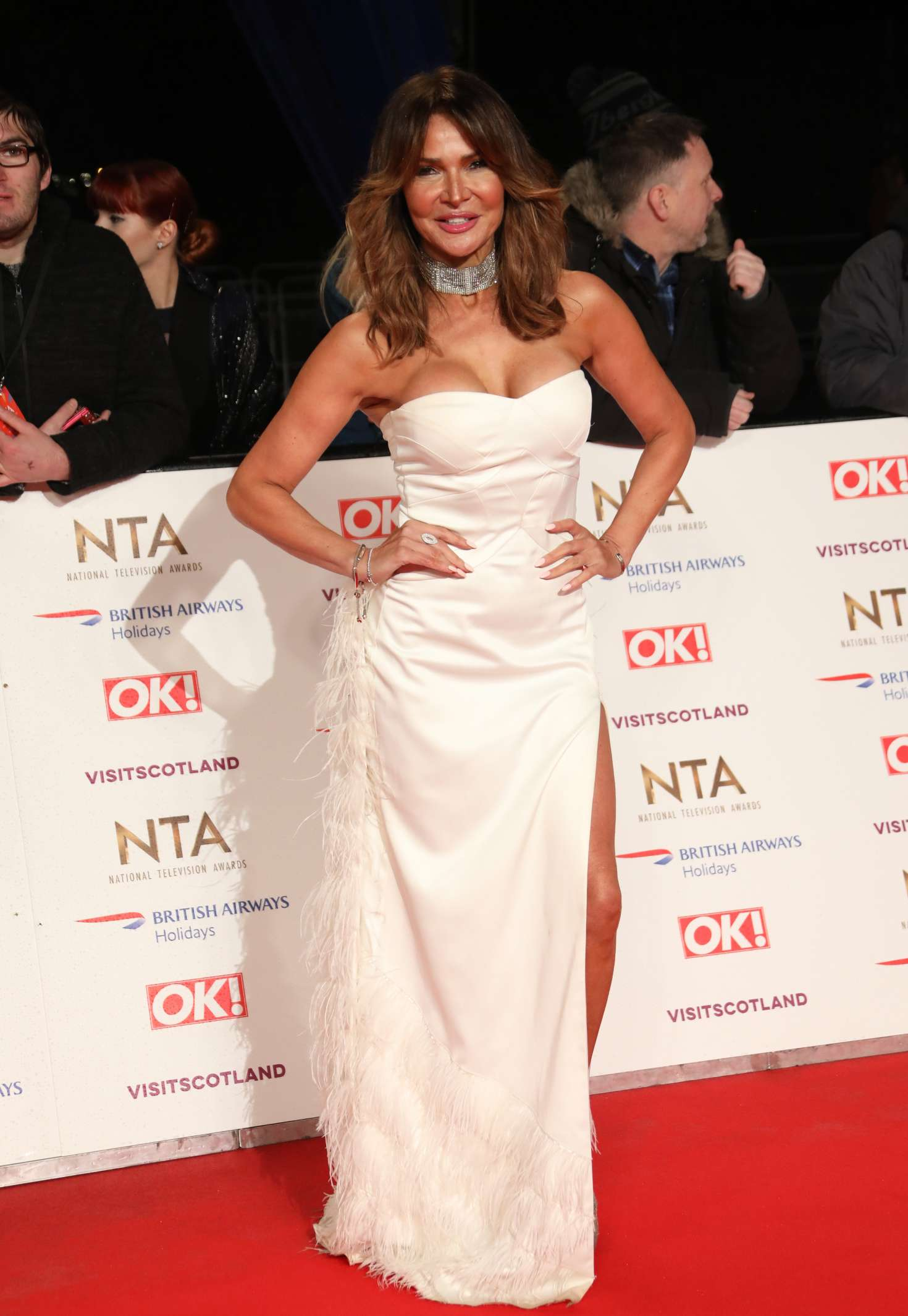 Lizzie Cundy - 2019 National Television Awards in London