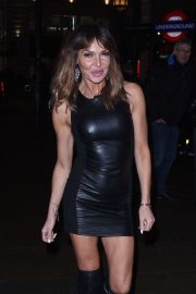 Lizzie Cundy - Attends Opening Of Reign Club Lounge in London
