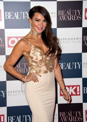 Lizzie Cundy - Beauty Awards 2016 in London