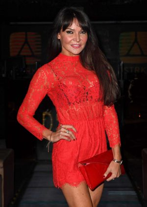 Lizzie Cundy - Boardroom To Boudoir Launch Party in London