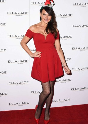 Lizzie Cundy - Ella Jade Chair Your Wish Shopping Centre Launch in London