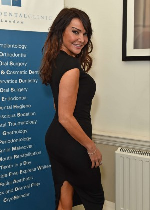 Lizzie Cundy - Favero Dental Clinic Launch Party in London