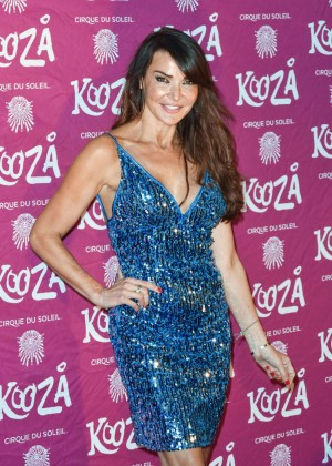Lizzie Cundy - Kooza By Cirque Du Soleil VIP Performance in London