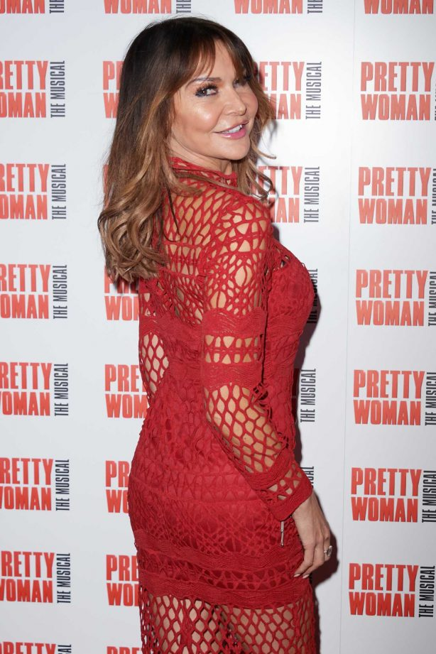 Lizzie Cundy - Press Night for Pretty Woman: The Musical in London