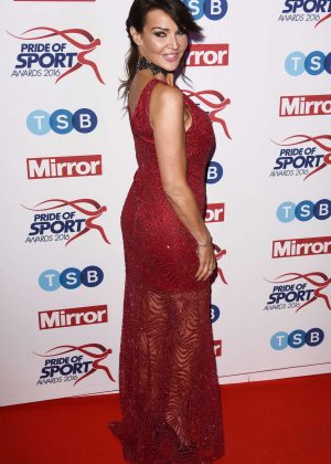 Lizzie Cundy - Pride of Sports Awards 2016 in London