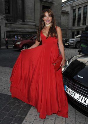 Lizzie Cundy - Syco Summer Party in London