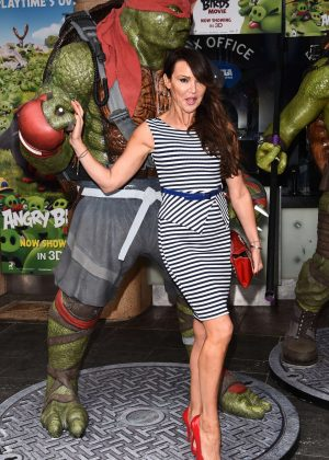 Lizzie Cundy - 'Teenage Mutant Ninja Turtles' VIP Screening in London