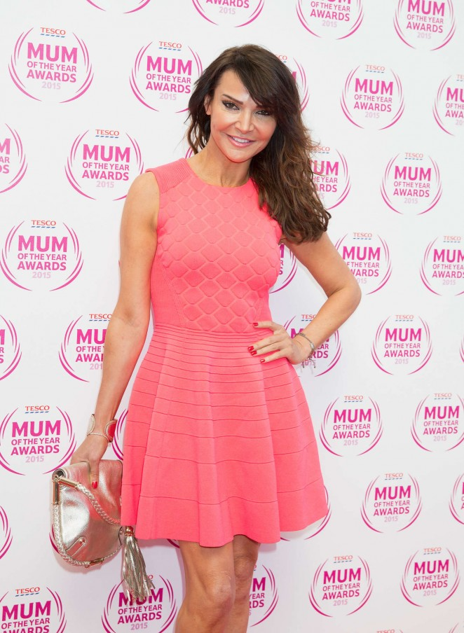 Lizzie Cundy – Tesco Mum Of The Year Awards in London