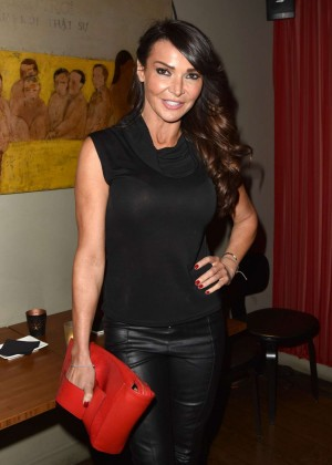 Lizzie Cundy - The House of Ho 1st Birthday Party in Soho