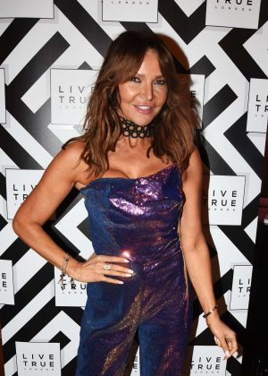 Lizzie Cundy - The Live True London Hair Salons Annual Launch Party in London