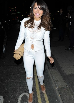 Lizzie Cundy - The Sun: Bizarre Party 2015 in London
