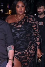 Lizzo at 2020 BRIT awards After Party at the BOX night club in London