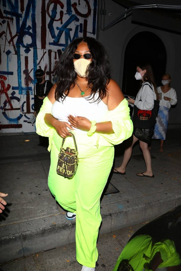 Lizzo - Seen at Craig's in West Hollywood