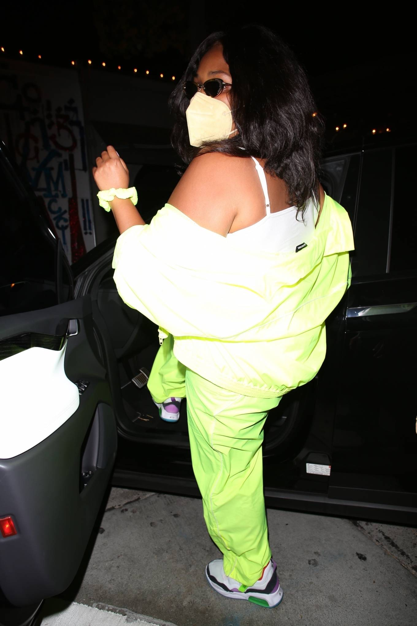 Lizzo 2021 : Lizzo – Seen at Craigs in West Hollywood-11
