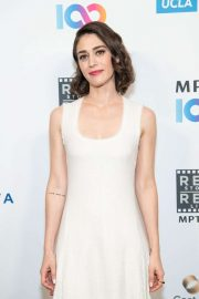 Lizzy Caplan - MPTF's 8th Annual Reel Stories, Reel Lives Event in Los Angeles