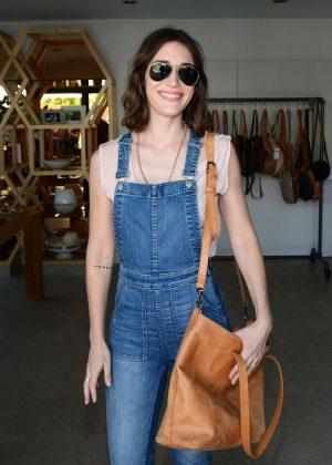 Lizzy Caplan - n:Philanthropy Garden Party in LA