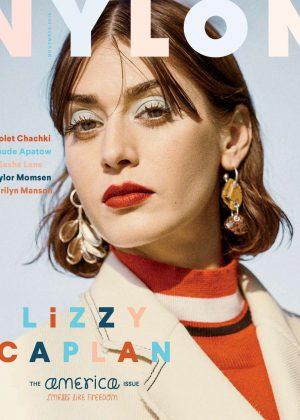 Lizzy Caplan - Nylon Magazine (November 2016)