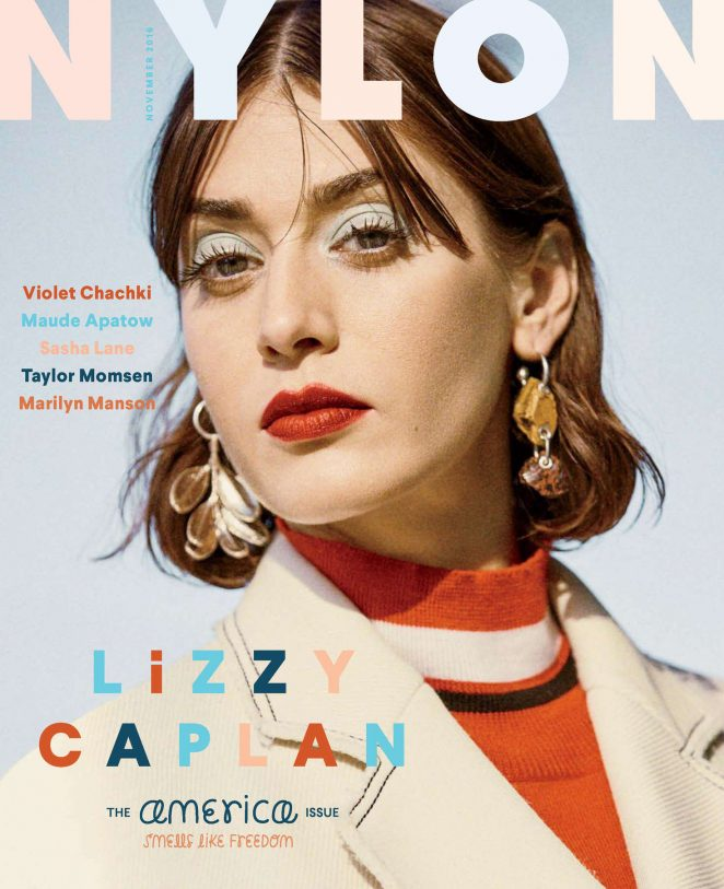 Lizzy Caplan - Nylon Magazine (November 2016)
