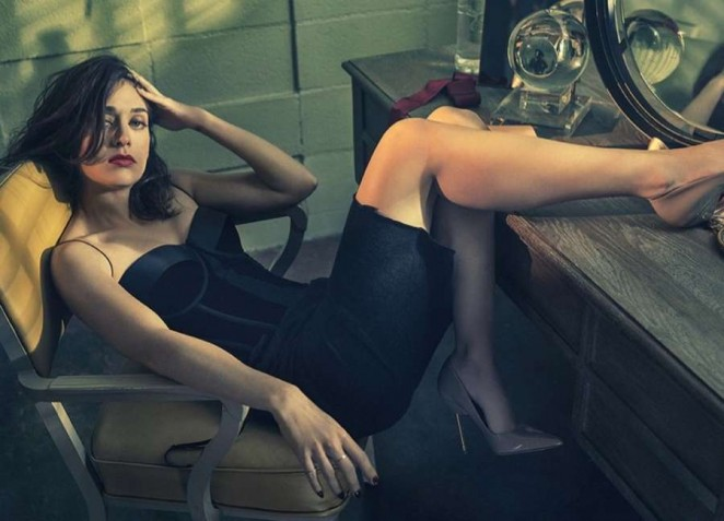 Lizzy Caplan - Playboy Magazine (July-August 2015) adds