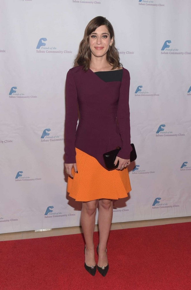 Lizzy Caplan - Saban Community Clinic's 39th Annual Dinner in Beverly Hills