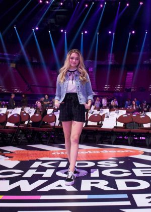 Lizzy Greene 2018 Kids Choice Awards Press Junket In