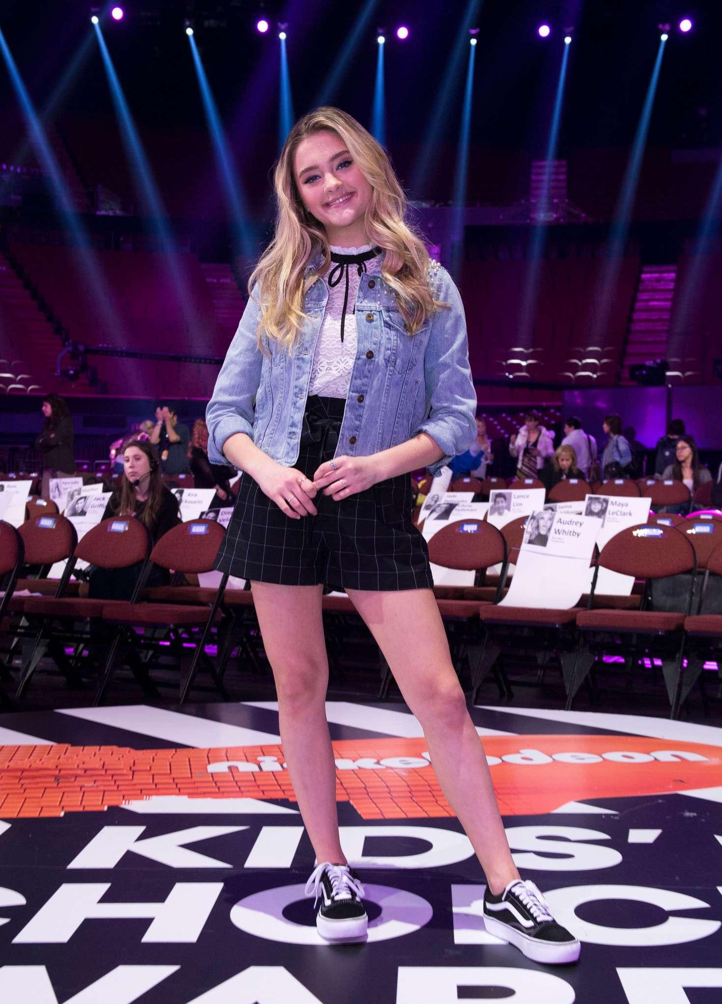 Lizzy Greene - 2018 Kids' Choice Awards Press Junket in Inglewood