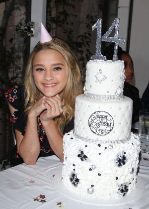 Lizzy Greene - Celebrates her 14th Birthday in Los Angeles