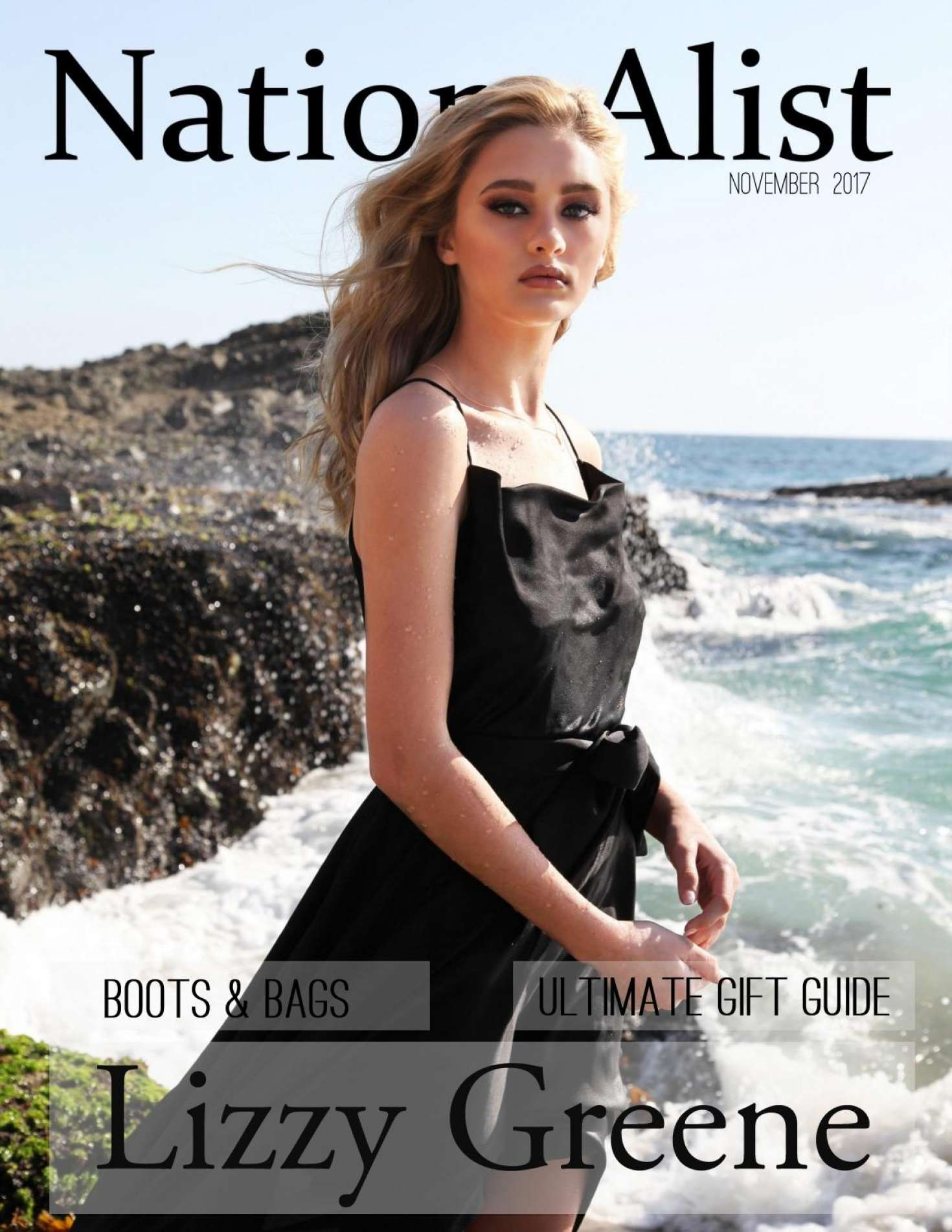 Lizzy Greene 2017 : Lizzy Greene: Nation Alist Magazine 2017 -02