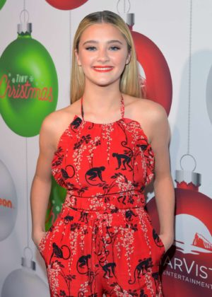 Lizzy Greene - 'Tiny Christmas' Premiere in Hollywood
