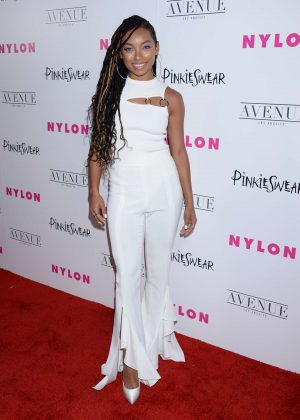 Logan Browning - 2018 NYLON Young Hollywood Party in Hollywood
