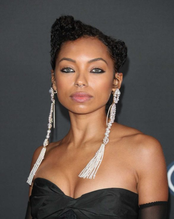 Logan Browning - 2020 NAACP Image Awards at Pasadena Civic Auditorium in Pasadena