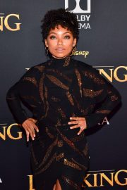 Logan Browning - 'The Lion King' Premiere in Hollywood