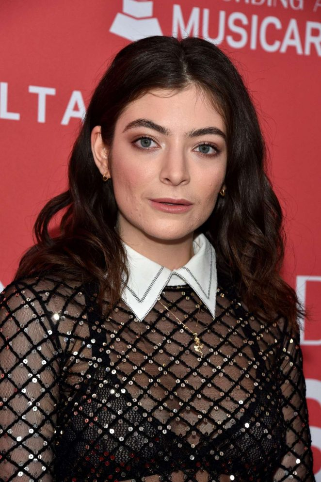 Lorde - 2018 MusiCares Person Of The Year Honoring Fleetwood Mac in NY