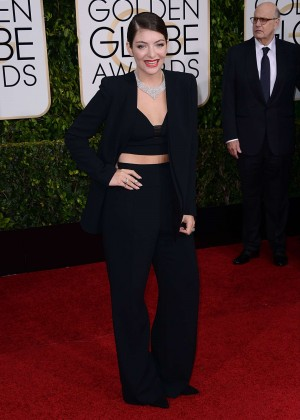 Lorde - 2015 Golden Globe Awards in Beverly Hills