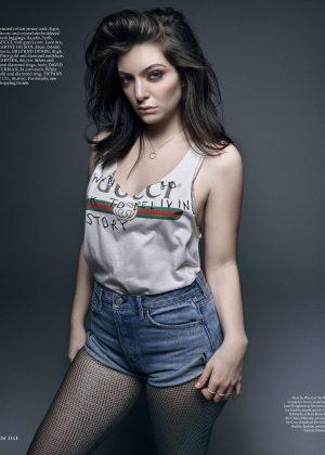Lorde - Elle US Magazine (June 2017)