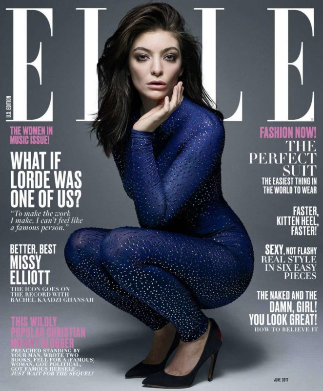 Lorde - Elle USA June 2017