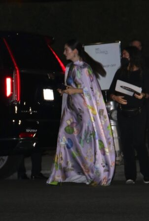 Lorde - Gets escorted by police after The Variety Women's Party in Beverly Hills