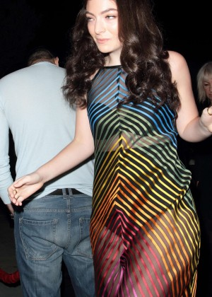Lorde - Republic Records VMA After Party in LA