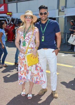 Lorelei Taron - Monaco Formula One Grand Prix in Monte Carlo