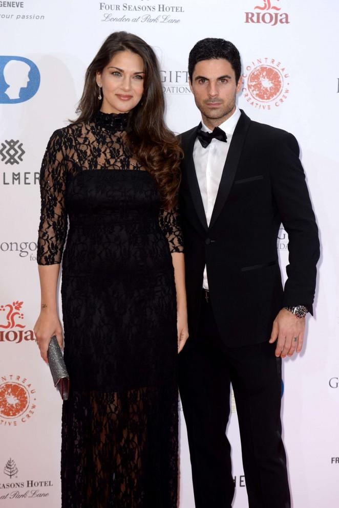 Lorena Bernal - The Global Gift Gala 2015 in London