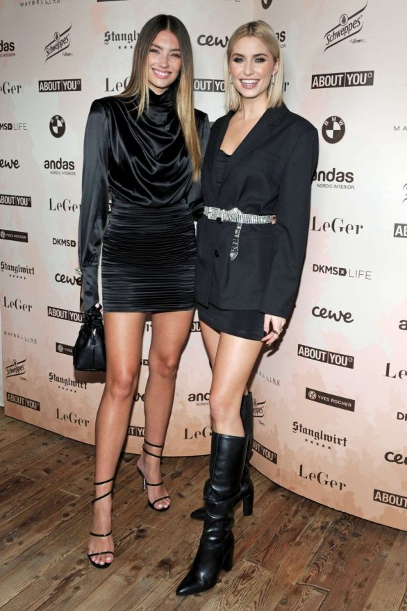 Lorena Rae Lena Gercke X About You Christmas Dinner And