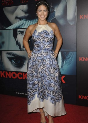 Lorenza Izzo - 'Knock Knock' Premiere in Hollywood
