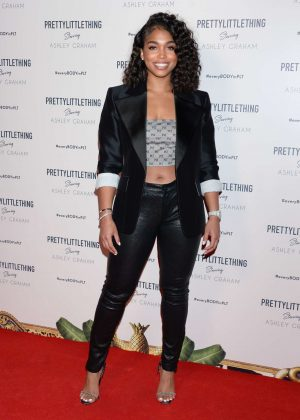 Lori Harvey - PrettyLittleThing Ashley Graham Event in LA