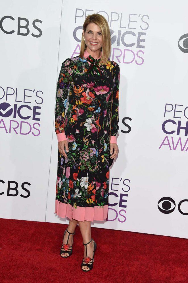 Lori Loughlin: 2017 Peoples Choice Awards -06
