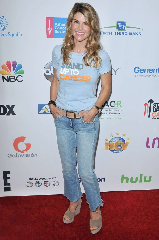 Lori Loughlin: 5th Biennial Stand Up To Cancer -08