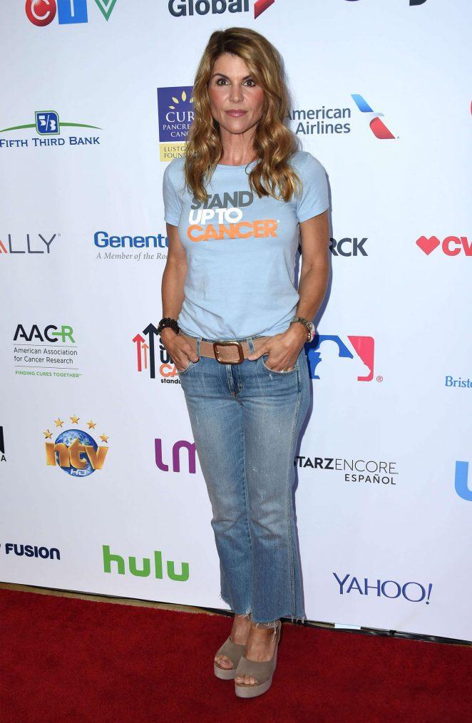 Lori Loughlin: 5th Biennial Stand Up To Cancer -13