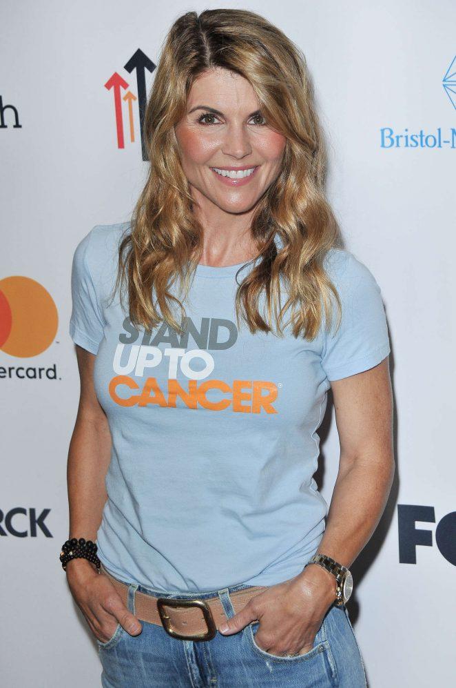 Lori Loughlin: 5th Biennial Stand Up To Cancer -14